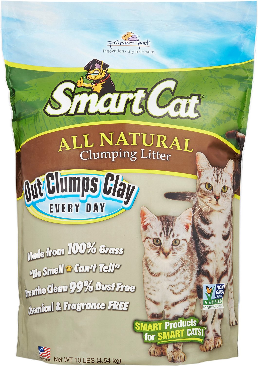 Pioneer Pet SmartCat All Natural Cat Litter, 10-lb bag