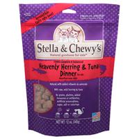 Stella & Chewy's Heavenly Herring & Tuna Dinner Freeze-Dried Cat Food, 0.8-oz