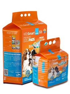 Wizsmart Super Dog Pad, 14-count