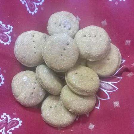 Bosco's Biscuits Turmeric, Oats, Pumpkin, Cinnamon Dog Treats, 1-lb