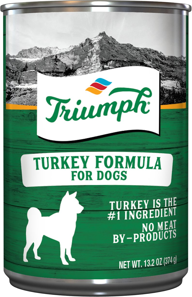 Triumph Turkey Formula Canned Dog Food, 13.2-oz