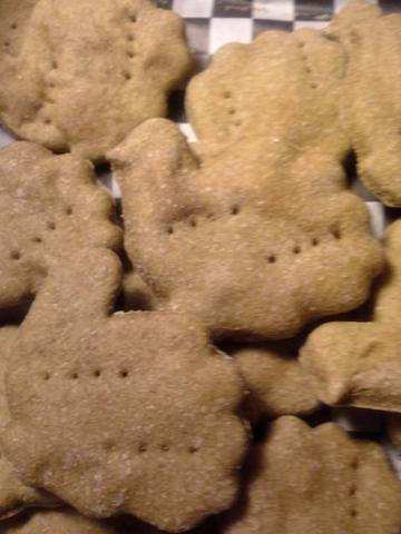 Bosco's Biscuits Turkey Trot Dog Treats, 1-lb