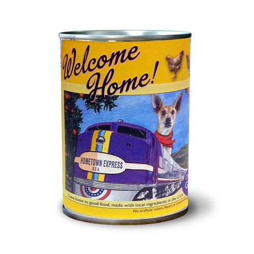 Welcome Home Chicken Recipe Grain-Free Wet Dog Food, 13-oz