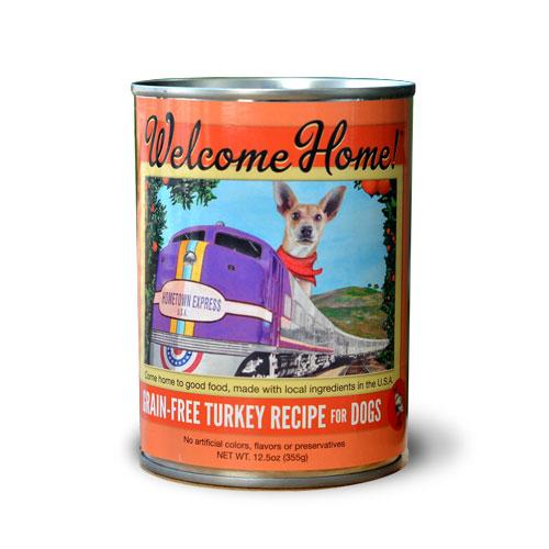 Welcome Home Turkey Recipe Grain-Free Wet Dog Food, 13-oz