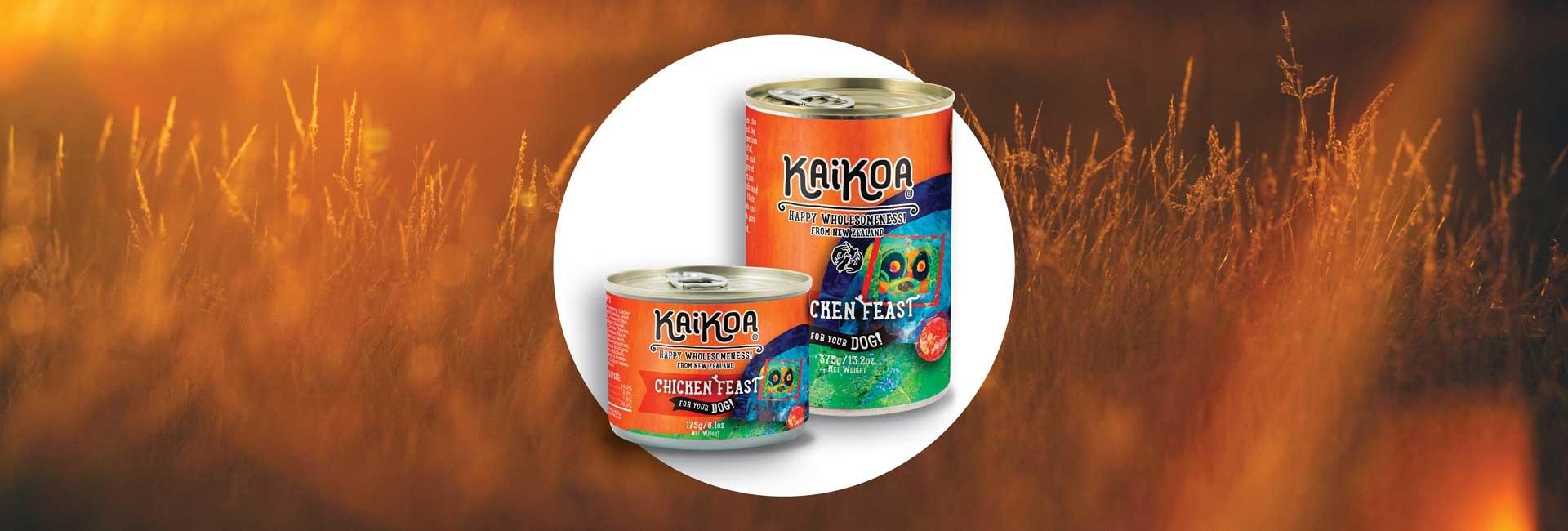 Kaikoa Dog Chicken Feast Grain-Free Wet Dog Food