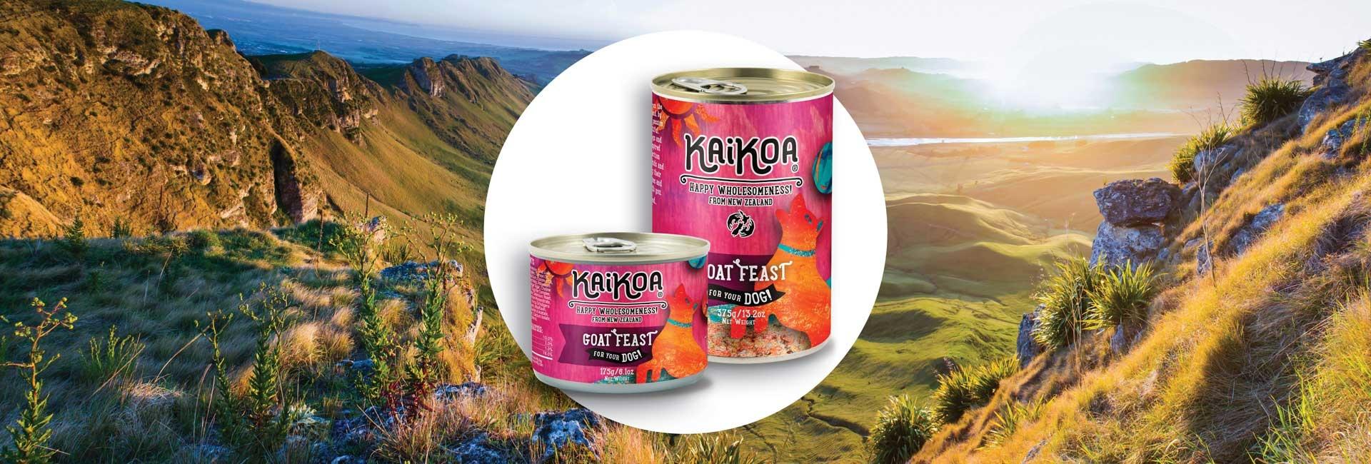 Kaikoa Dog Goat Feast Grain-Free Wet Dog Food