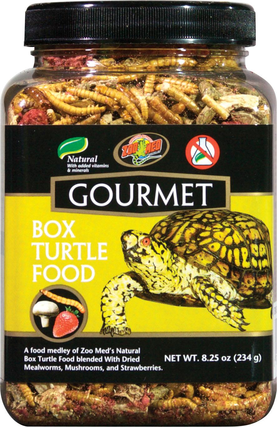 Zoo Med Gourmet Box Turtle Food, 8.25-oz