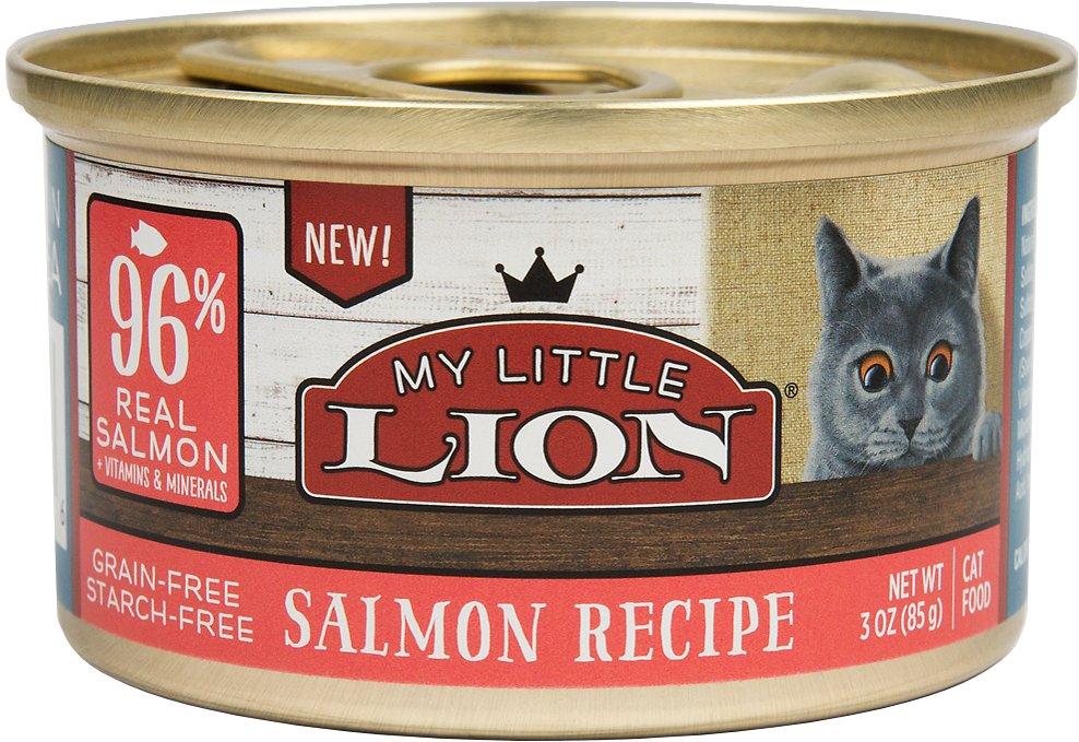 My Little Lion 96% Salmon Recipe Grain-Free Wet Cat Food