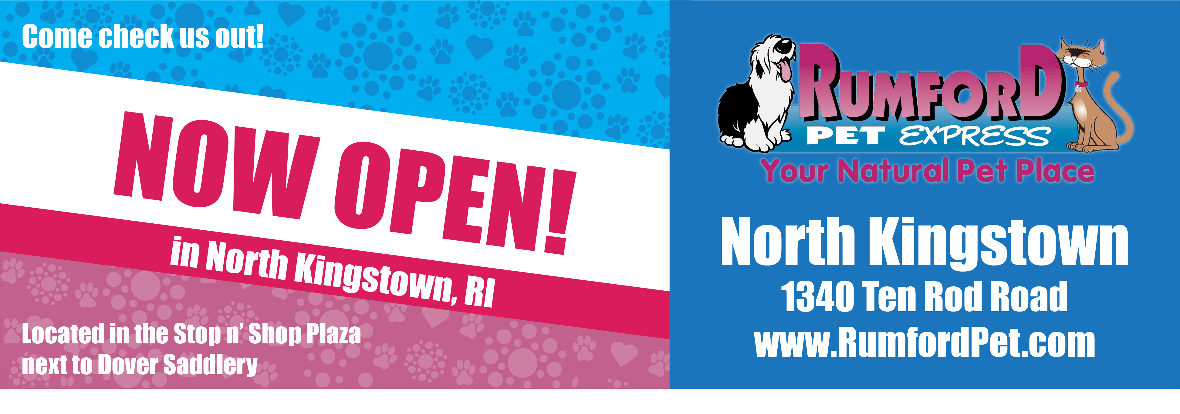 Now Open in North Kingstown