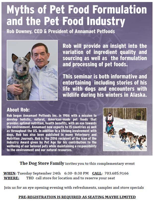 Myths of Pet Food Formulation and The Pet Food Industry